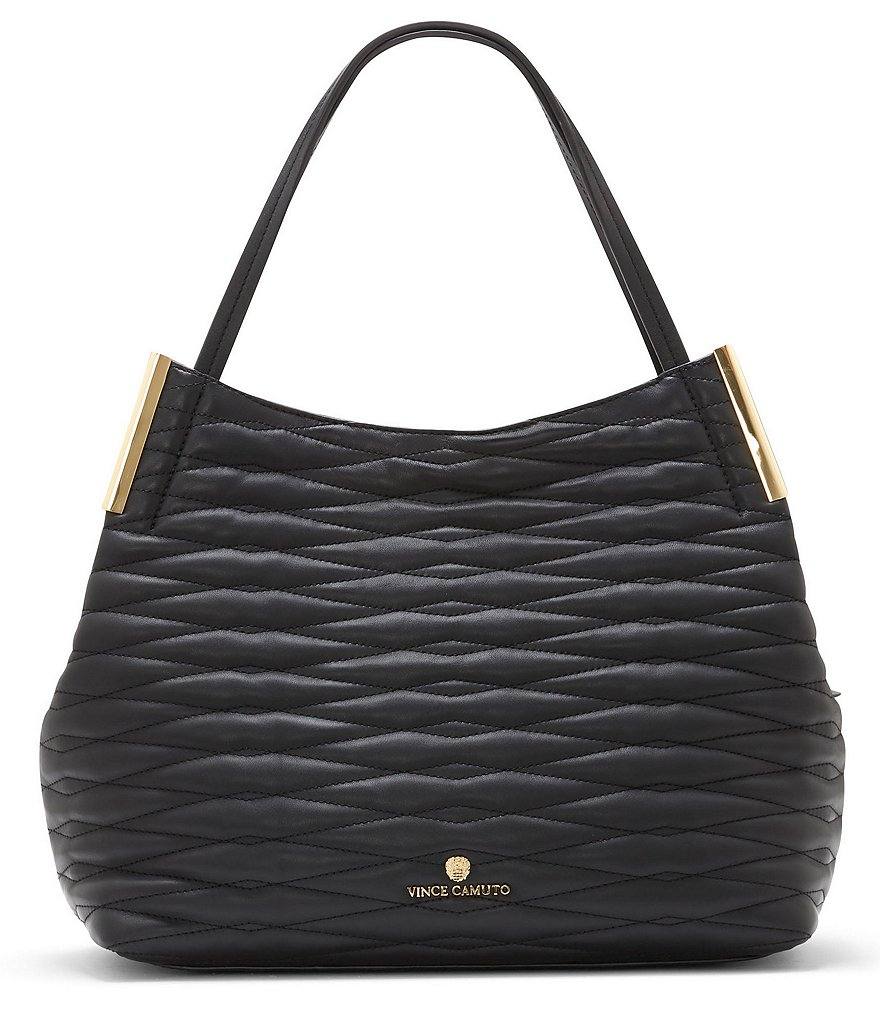 Vince Camuto Tina Cross-Stitch Tote