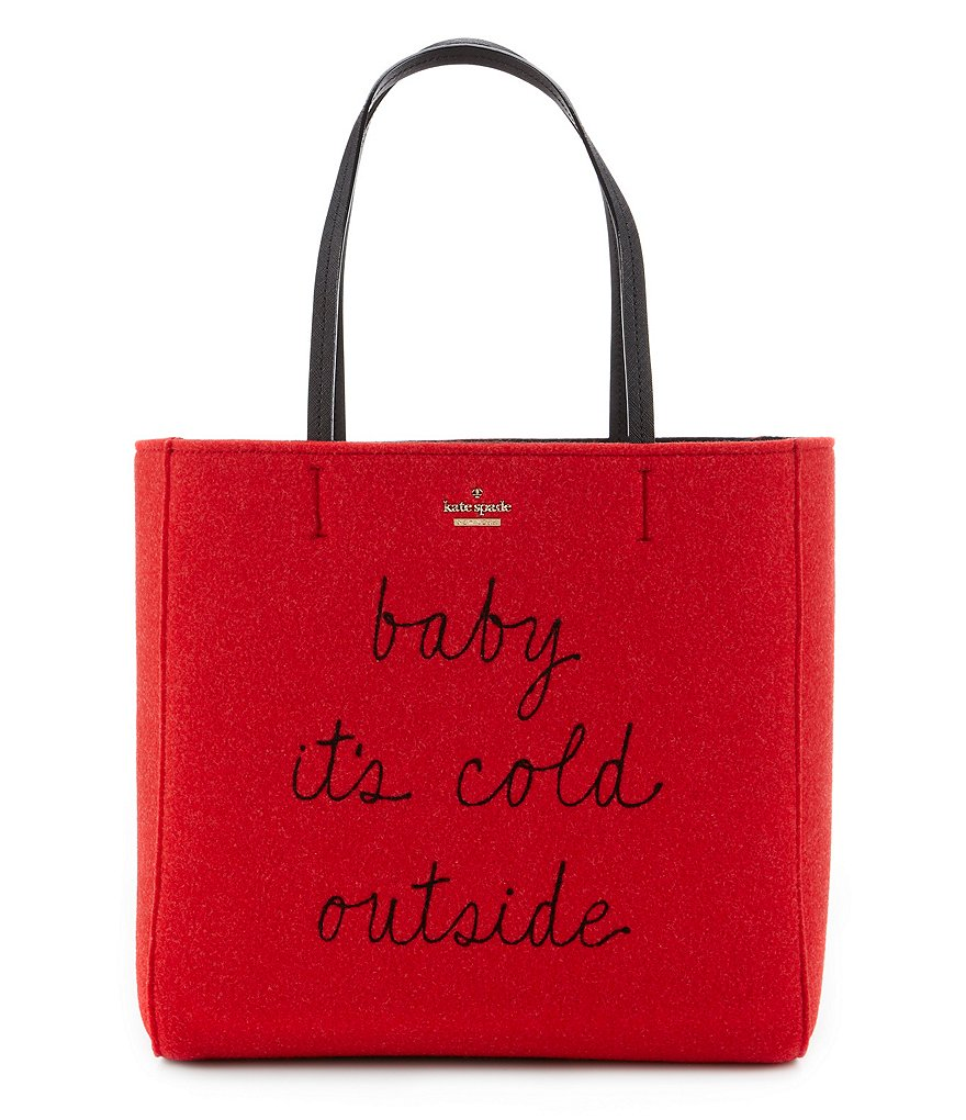 kate spade new york Post Drive Collection Hallie Baby It´s Cold Outside Tote