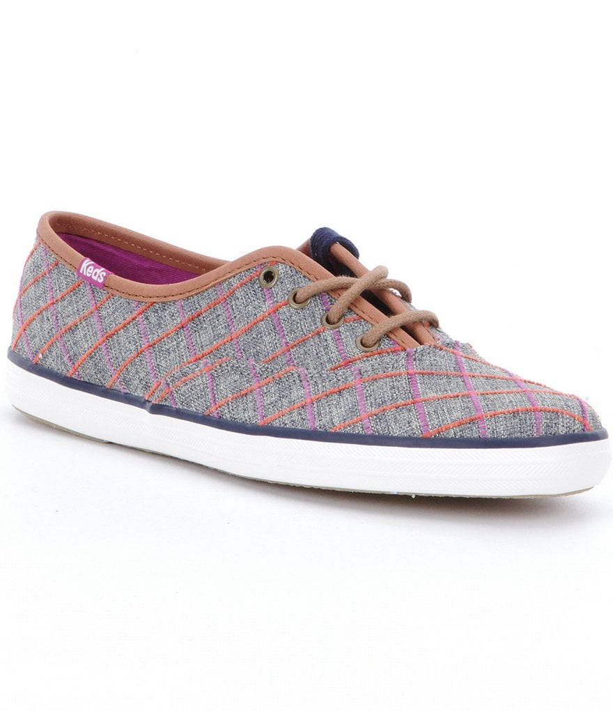 Keds Champion Windowpane Plaid Sneakers