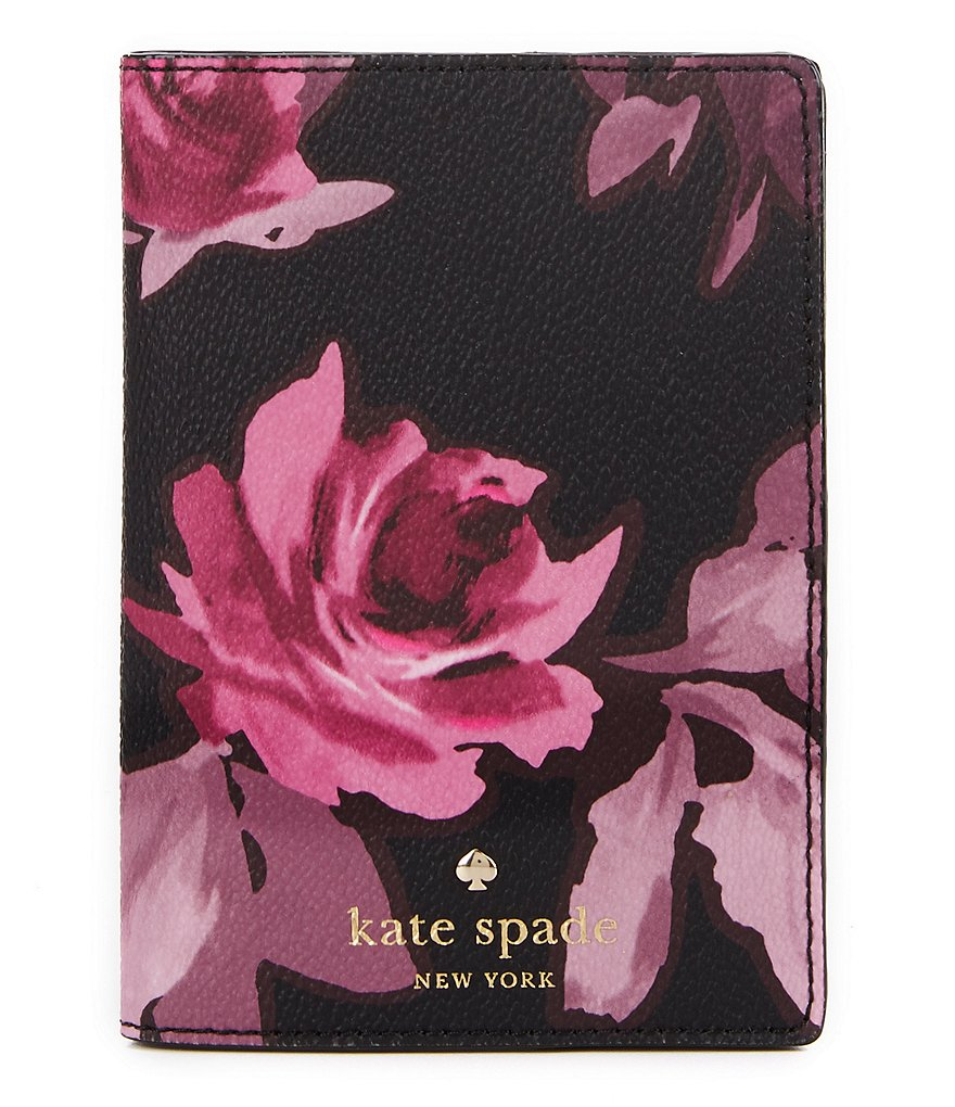 kate spade new york Hawthorne Lane Collection Roses Passport Holder