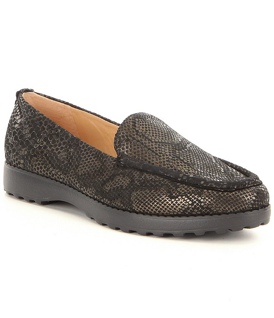 Nurture Harmoney Animal-Print Lugged Loafers