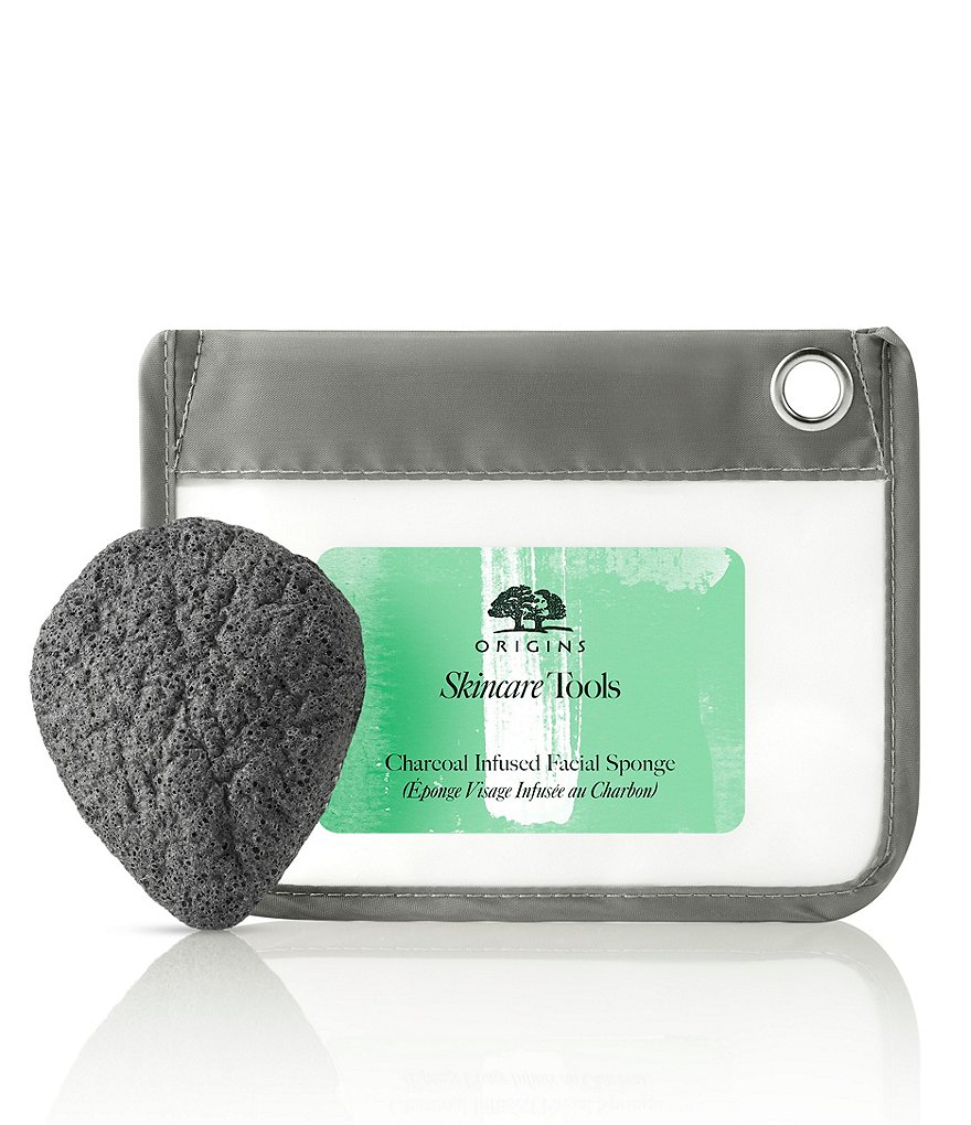 Origins Charcoal-Infused Facial Sponge