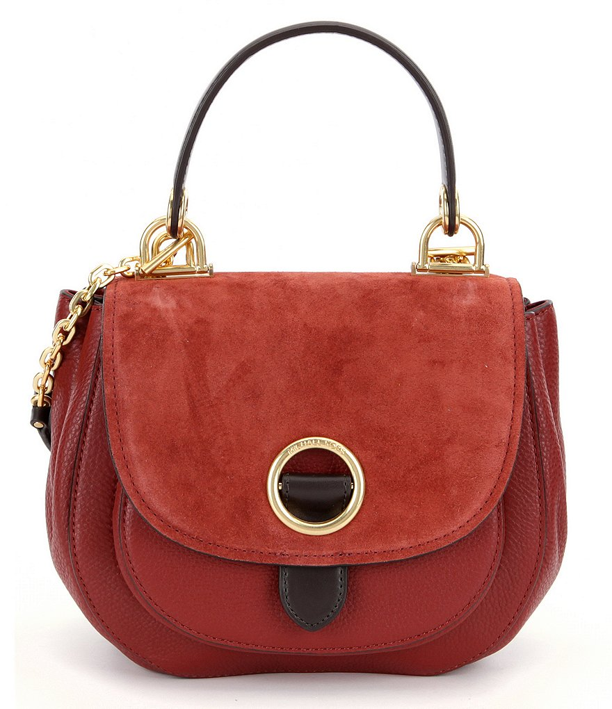 MICHAEL Michael Kors Isadore Medium Saddle Bag