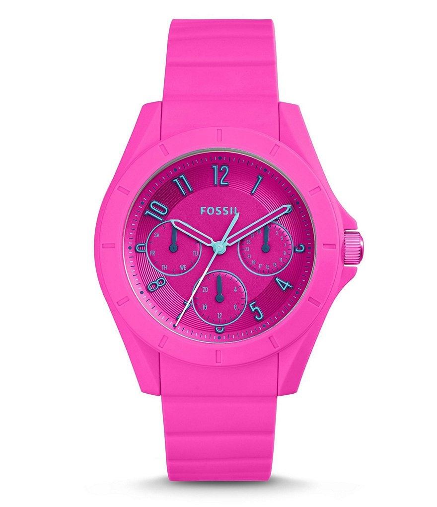 Fossil Poptastic Sport Multifunction Silicone Watch