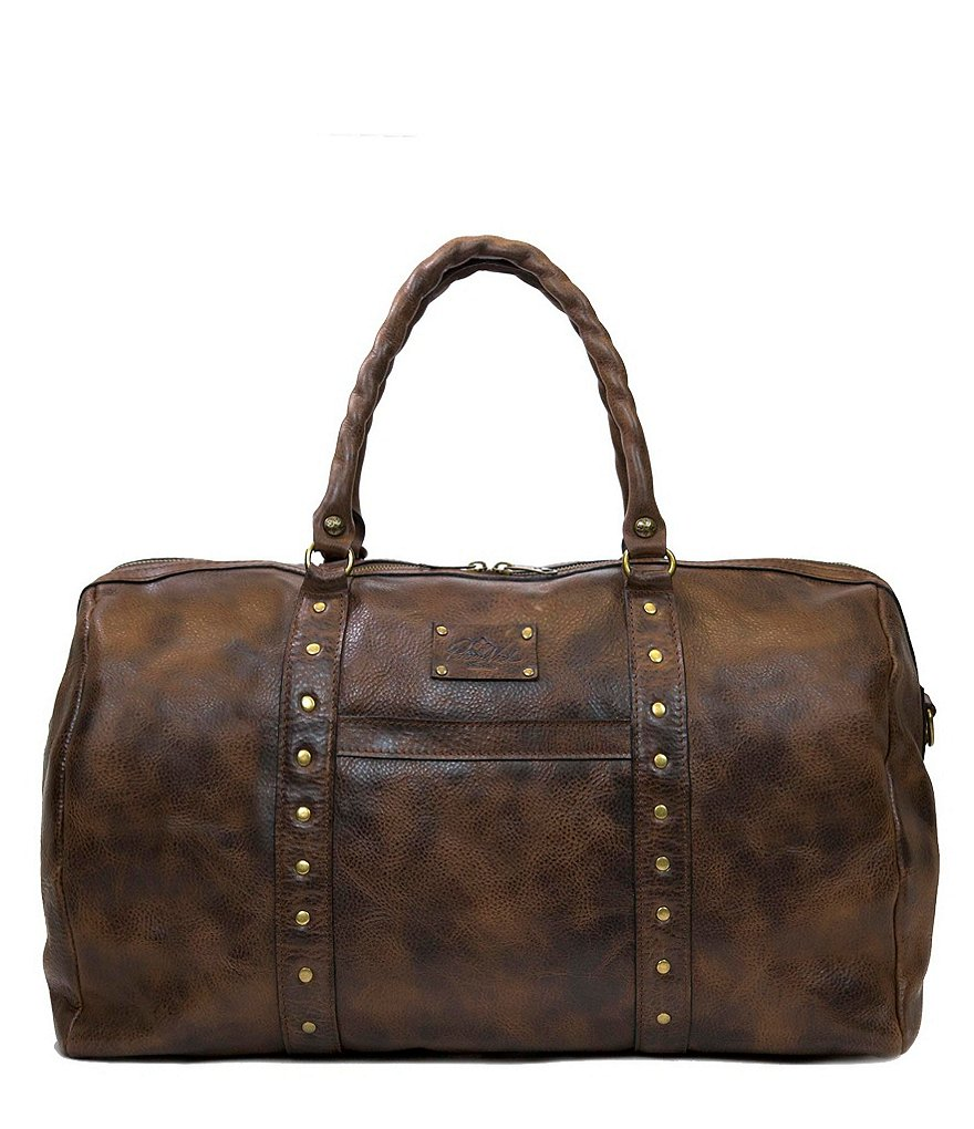 Patricia Nash Distressed Vintage Collection Milano Studded Weekender