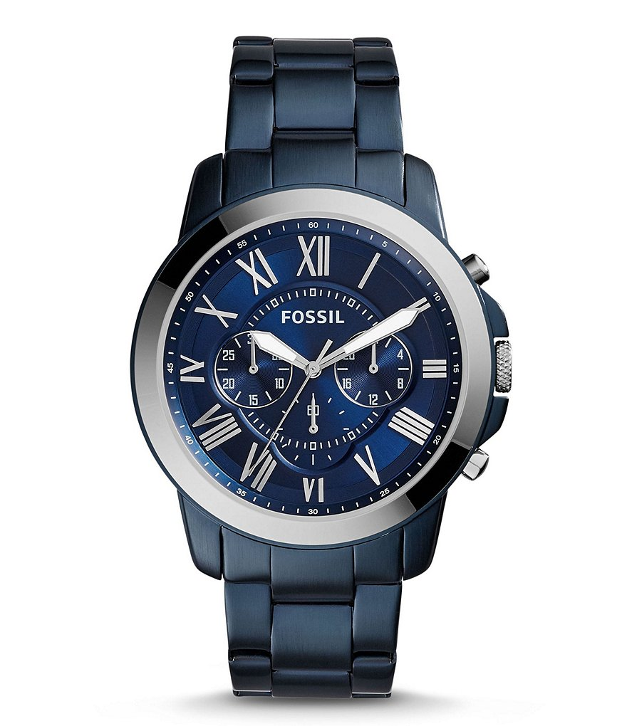 Fossil Grant Chronograph Bracelet Watch