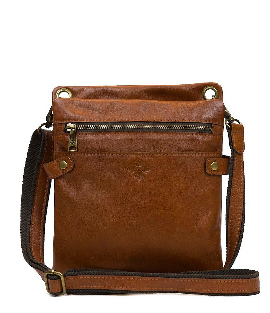 Patricia Nash Soft Italian Leather Collection Francesca Organizer Cross-Body Bag