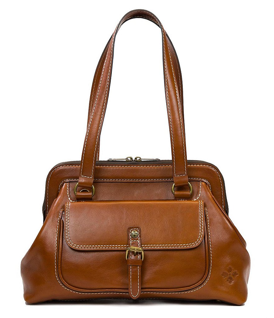 Patricia Nash Tailored Heritage Collection Gianna Frame Satchel