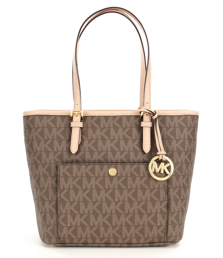 MICHAEL Michael Kors Jet Set Snap-Pocket Medium Tote