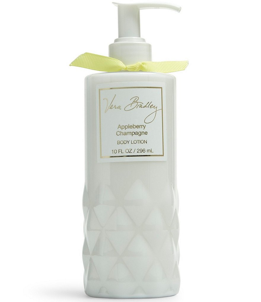 Vera Bradley Appleberry Champagne Body Lotion