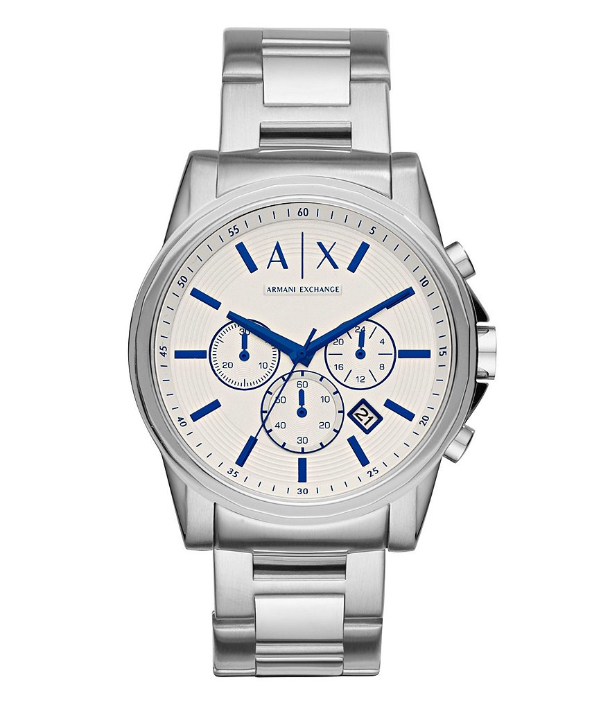 AX Armani Exchange Outerbanks Chronograph & Date Bracelet Watch