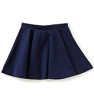 Ralph Lauren Childrenswear Big Girls 7-16 Stretch Ponte Skirt