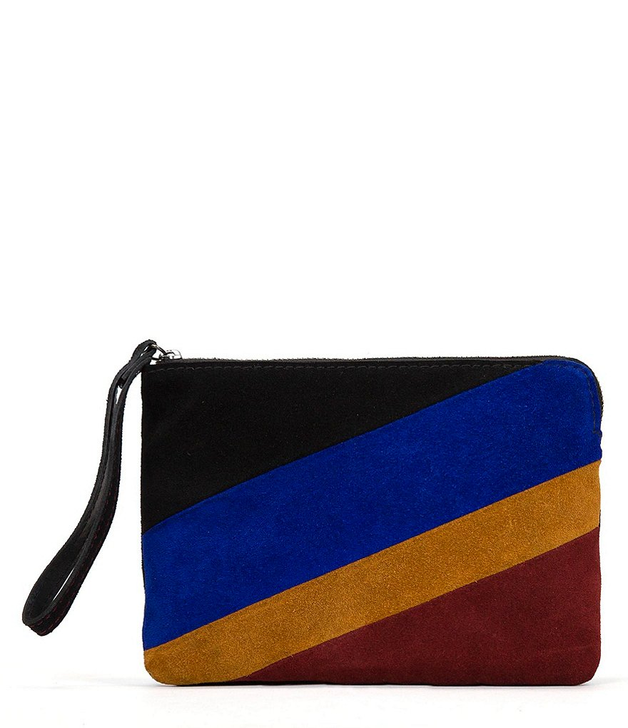 Patricia Nash Colorblocked Cassini Wristlet