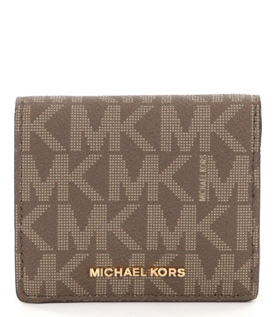 MICHAEL Michael Kors Jet Set Signature Carryall Card Case