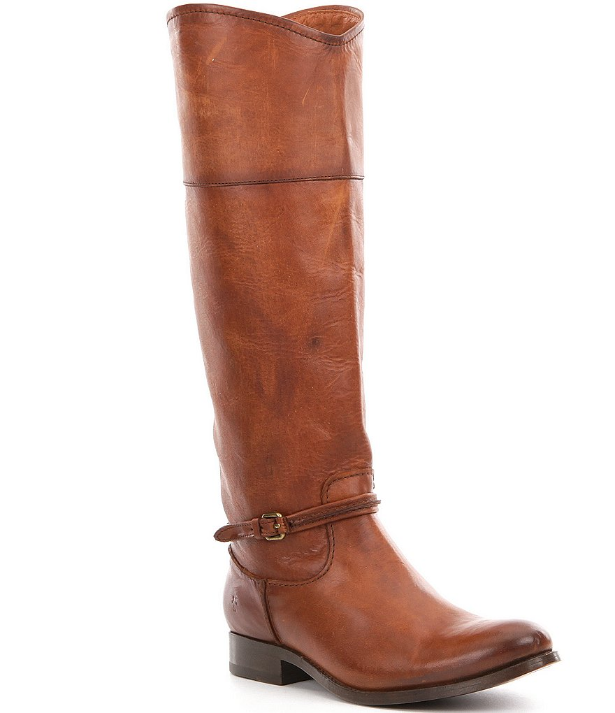 Frye Melissa Seam Pull On Tall Riding Boots