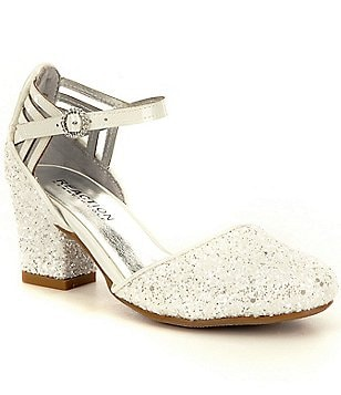 Kenneth Cole Reaction Girl´s Sarah Shine Glitter Ankle-Strap Dress Shoe