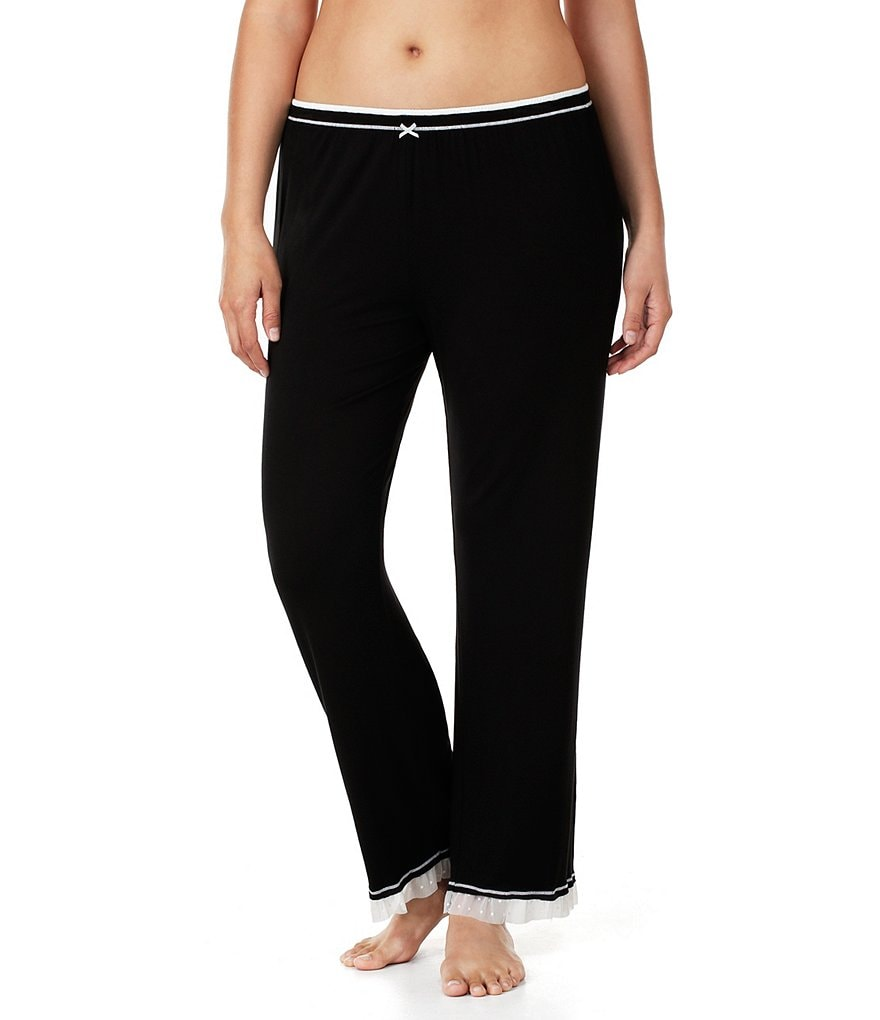 Kensie Plus Jersey Knit Sleep Pants