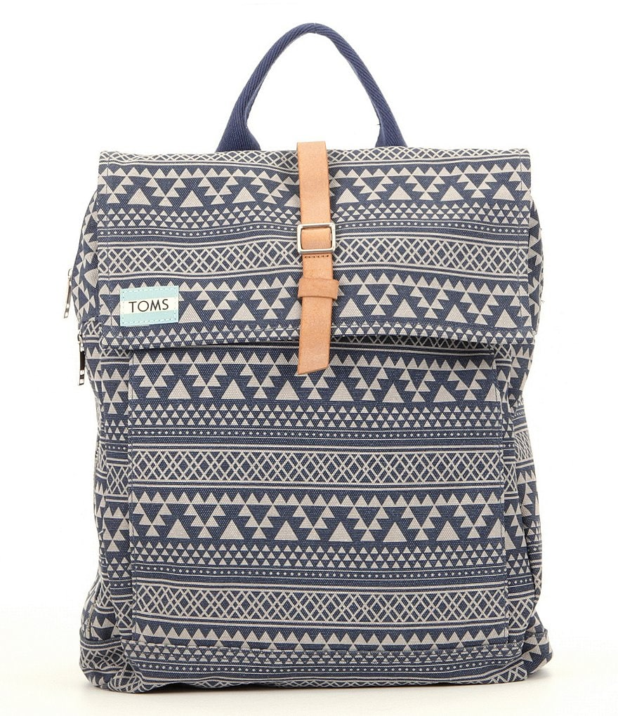 TOMS Trekker Tribal Geometric Backpack