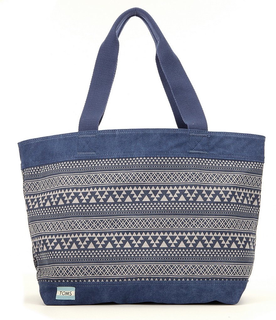 TOMS Transport Geometric Tribal Tote