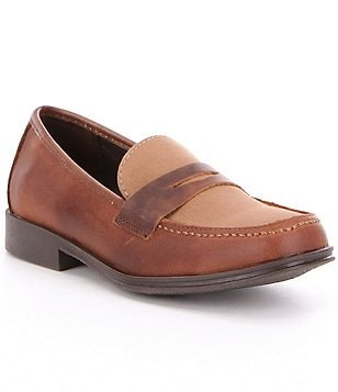 Kenneth Cole Reaction Boy´s Club Loft Leather & Fabric Slip-On Loafer