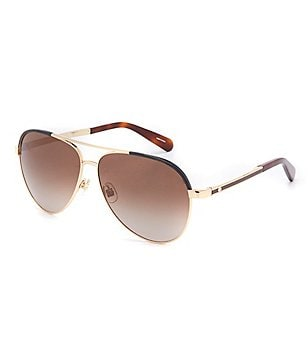 kate spade new york Amarissa Aviator Sunglasses