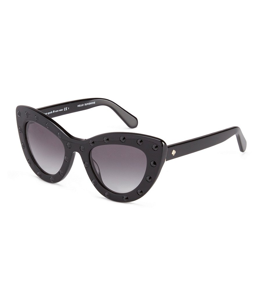 kate spade new york Luann Studded Cat-Eye Sunglasses