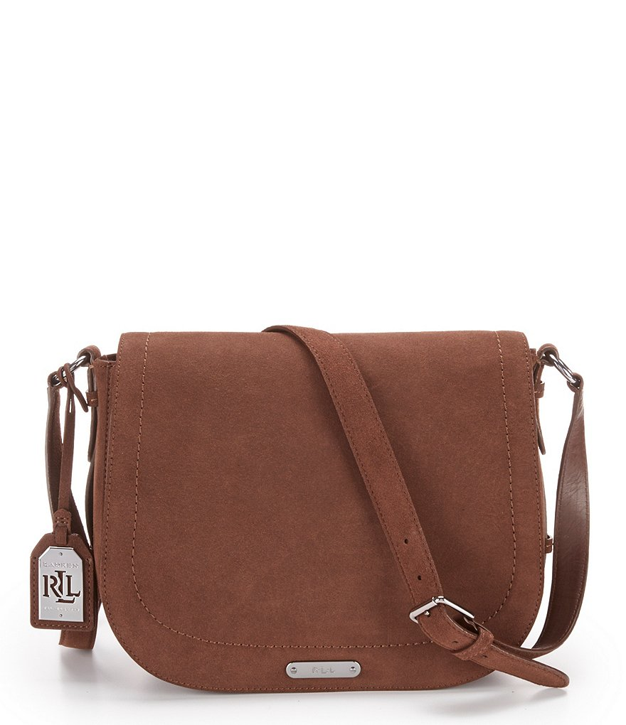 Lauren Ralph Lauren Glennmore Collection Larisa Saddle Bag