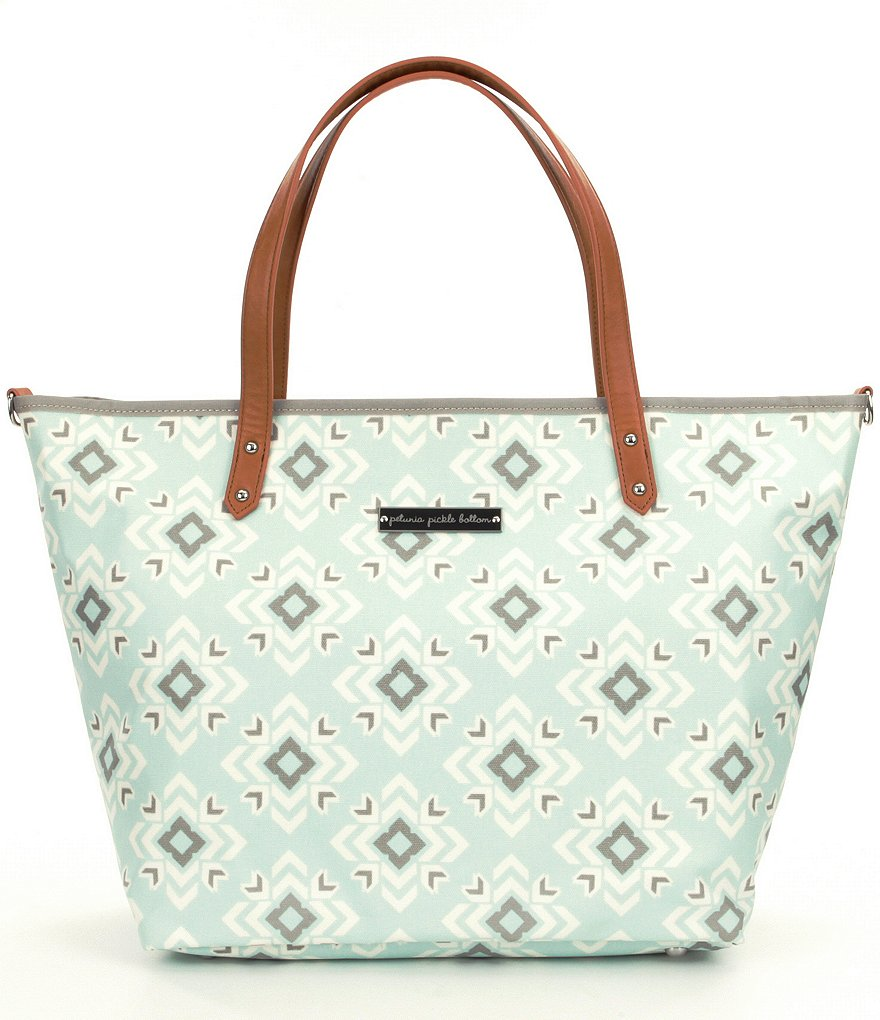 Petunia Pickle Bottom Sleepy San Sebastian Downtown Tote Diaper Bag