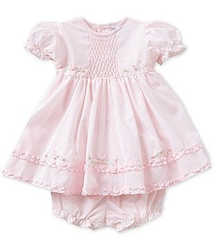 Feltman Brothers Baby Girls Newborn-9 Months Ruffle Dress
