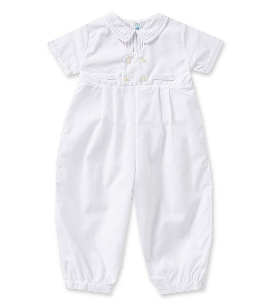 Feltman Brothers 3-24 Months Baby Boys Christening Coveralls
