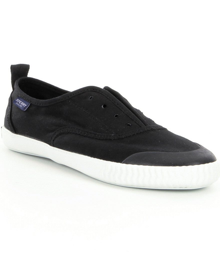 Sperry Sayel Clew Canvas Washed Slip On