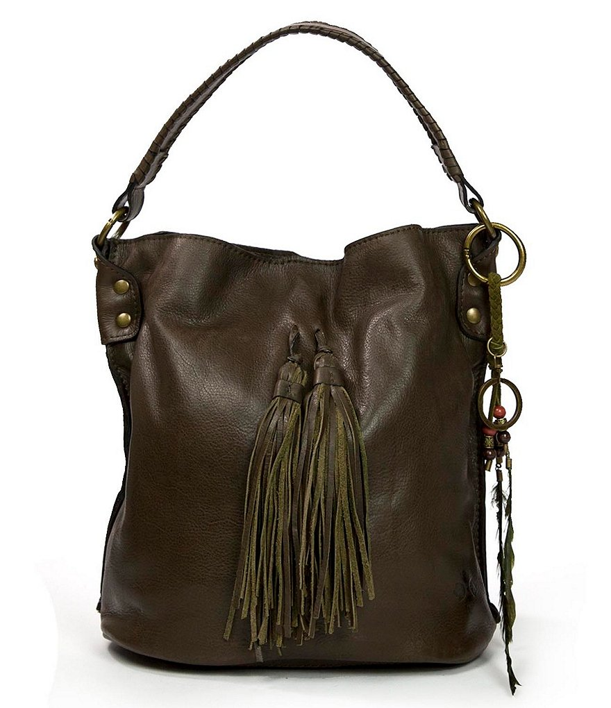 Patricia Nash Soft Italian Veg Collection Octavia Bucket Bag