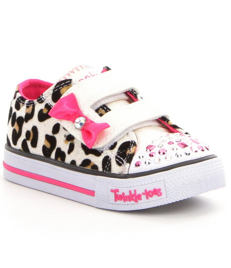 Skechers Girls´ Twinkle Toes Shuffles Sparkle Sass Light-Up Sneakers