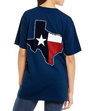 Royce Texas State Flag Pocket Graphic Tee