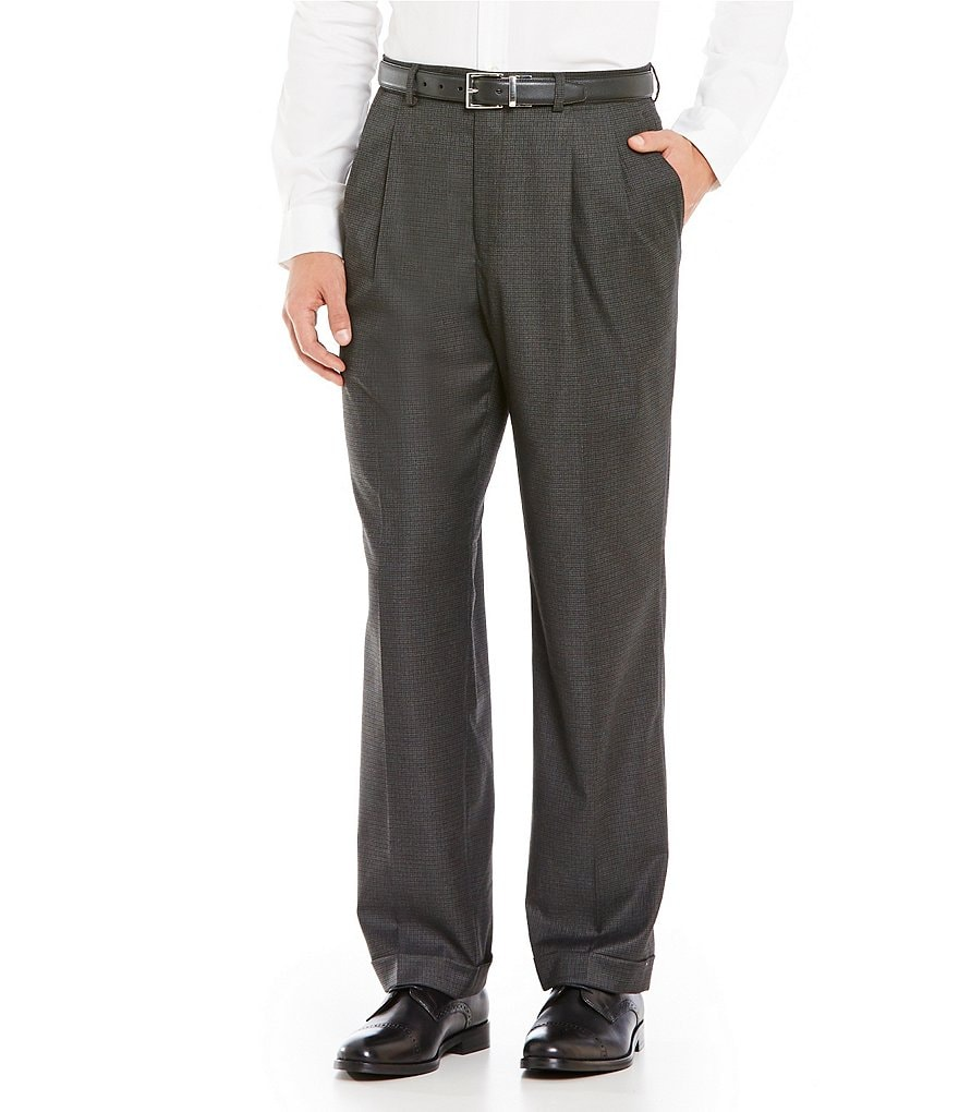 Ralph Ralph Lauren Classic-Fit Pleated Dress Pants