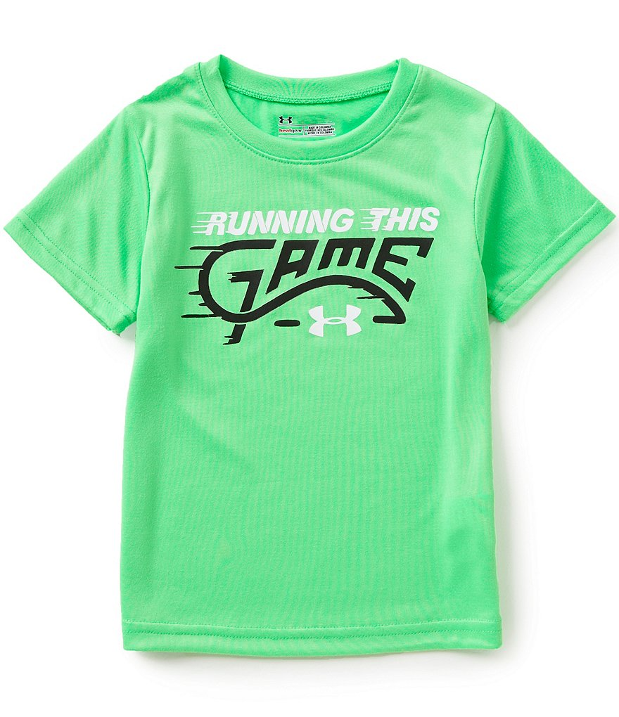 Under Armour Little Boys 2T-7 Running This Game Tee