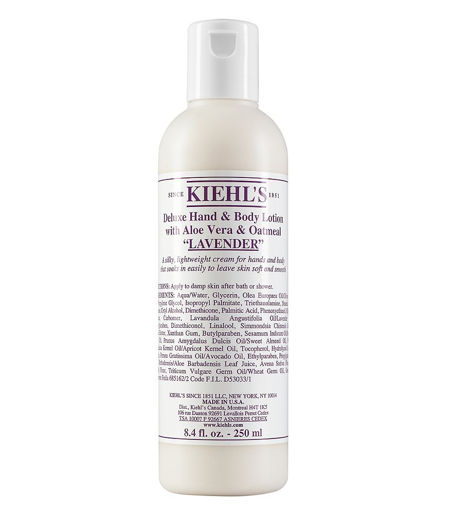 Kiehl´s Since 1851 Lavender Deluxe Hand & Body Lotion with Aloe Vera & Oatmeal