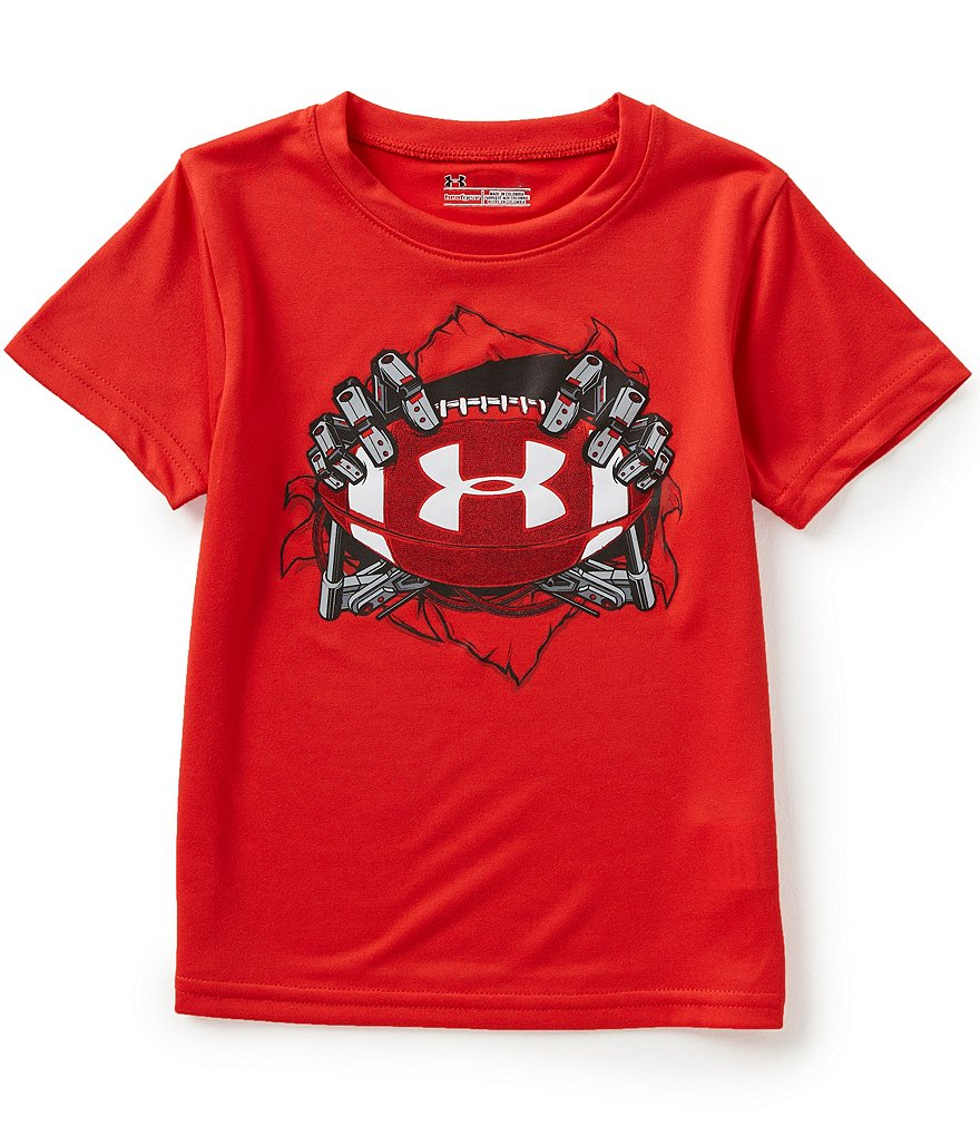 Under Armour Little Boys 2T-7 Football Break Through Short-Sleeve Tee