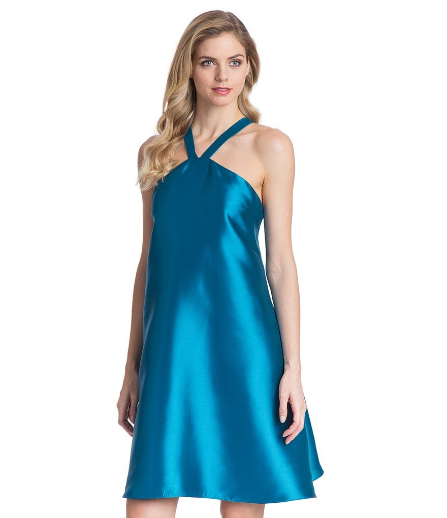 Belle Badgley Mischka Tiffany Trapeze Dress