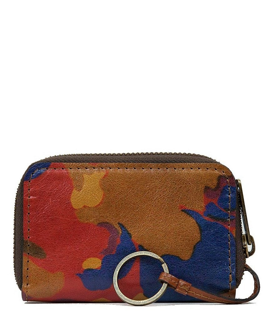 Patricia Nash Parisian Camo Collection Abri Zip-Around Case