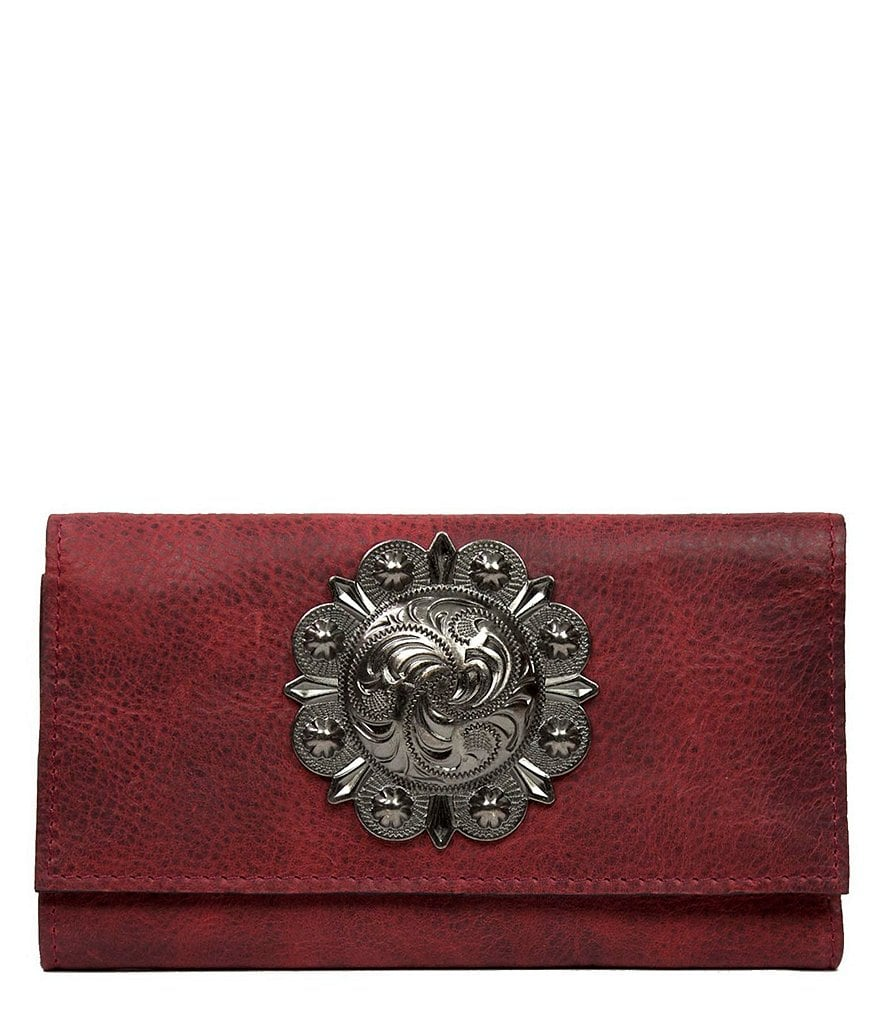 Patricia Nash Medallion Distressed Collection Terresa Wallet
