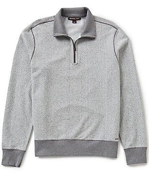 Michael Kors Spacedye Quarter-Zip Pullover