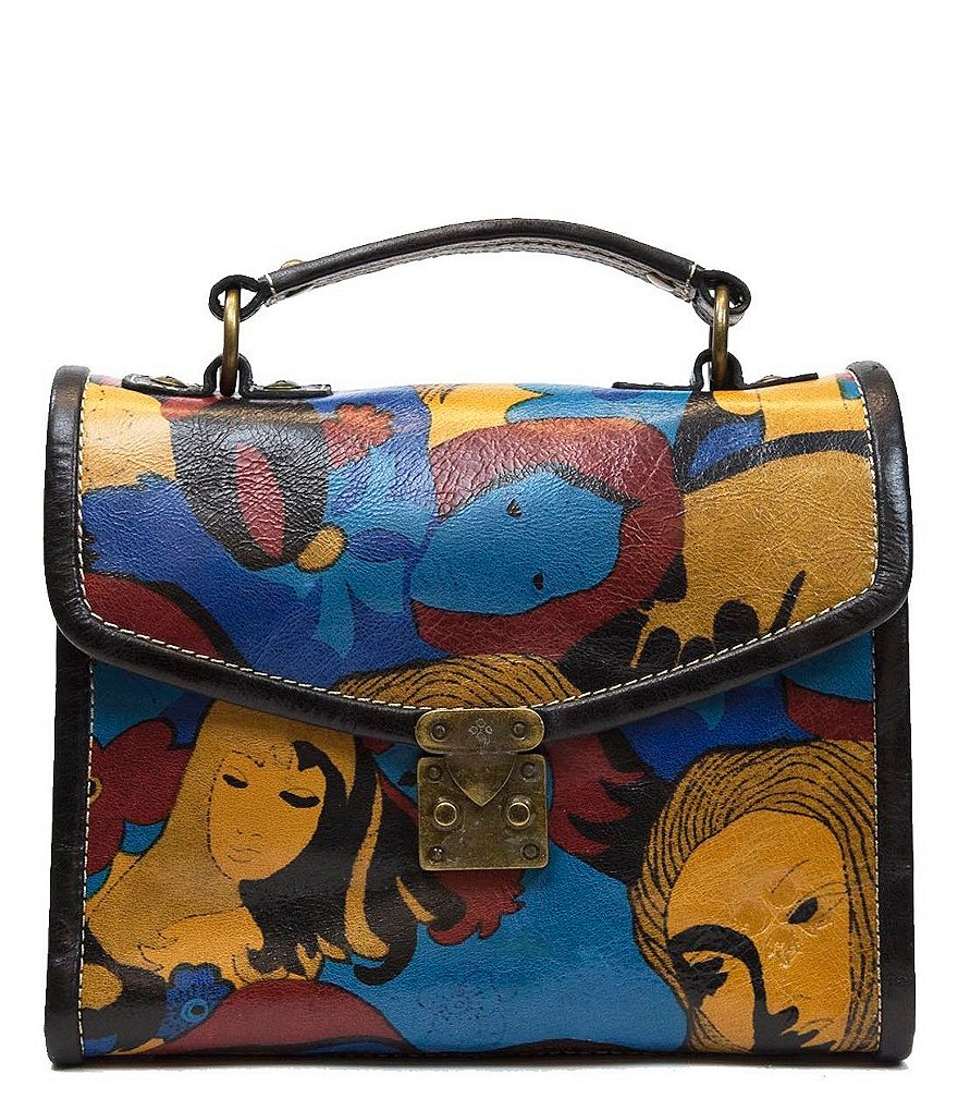 Patricia Nash Mod World Collection Simona Top Handle Satchel