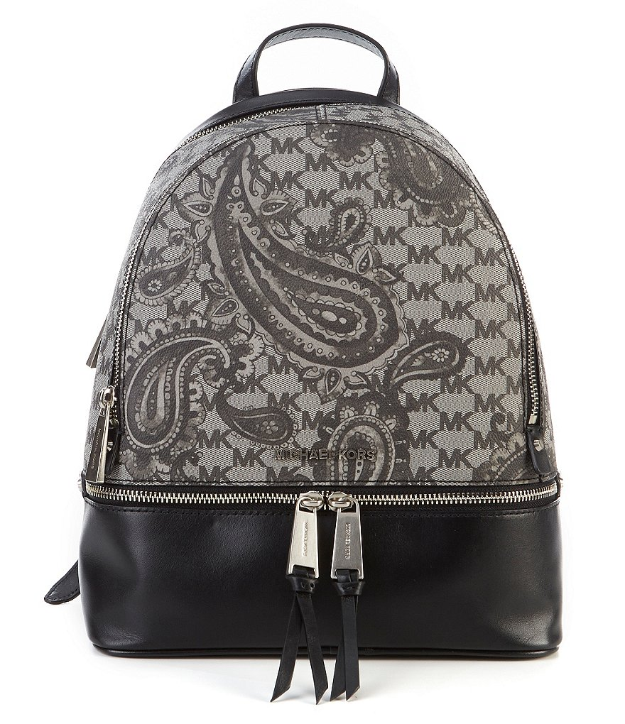 MICHAEL Michael Kors Studio Rhea Paisley Medium Zip Backpack