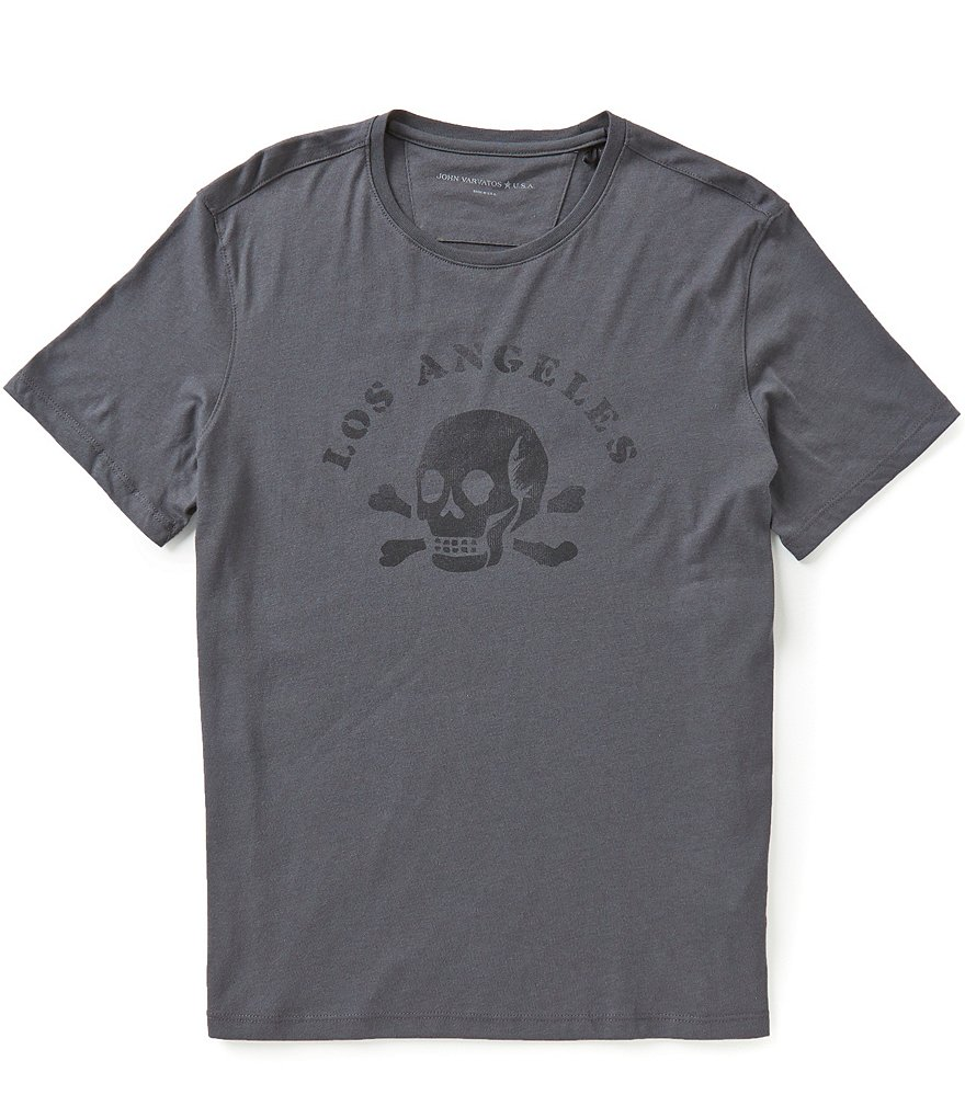 John Varvatos Star USA Los Angeles Skull Graphic Tee