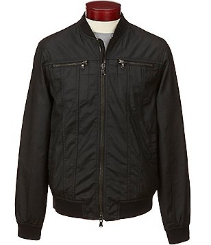 John Varvatos Star USA Full-Zip Bomber Jacket