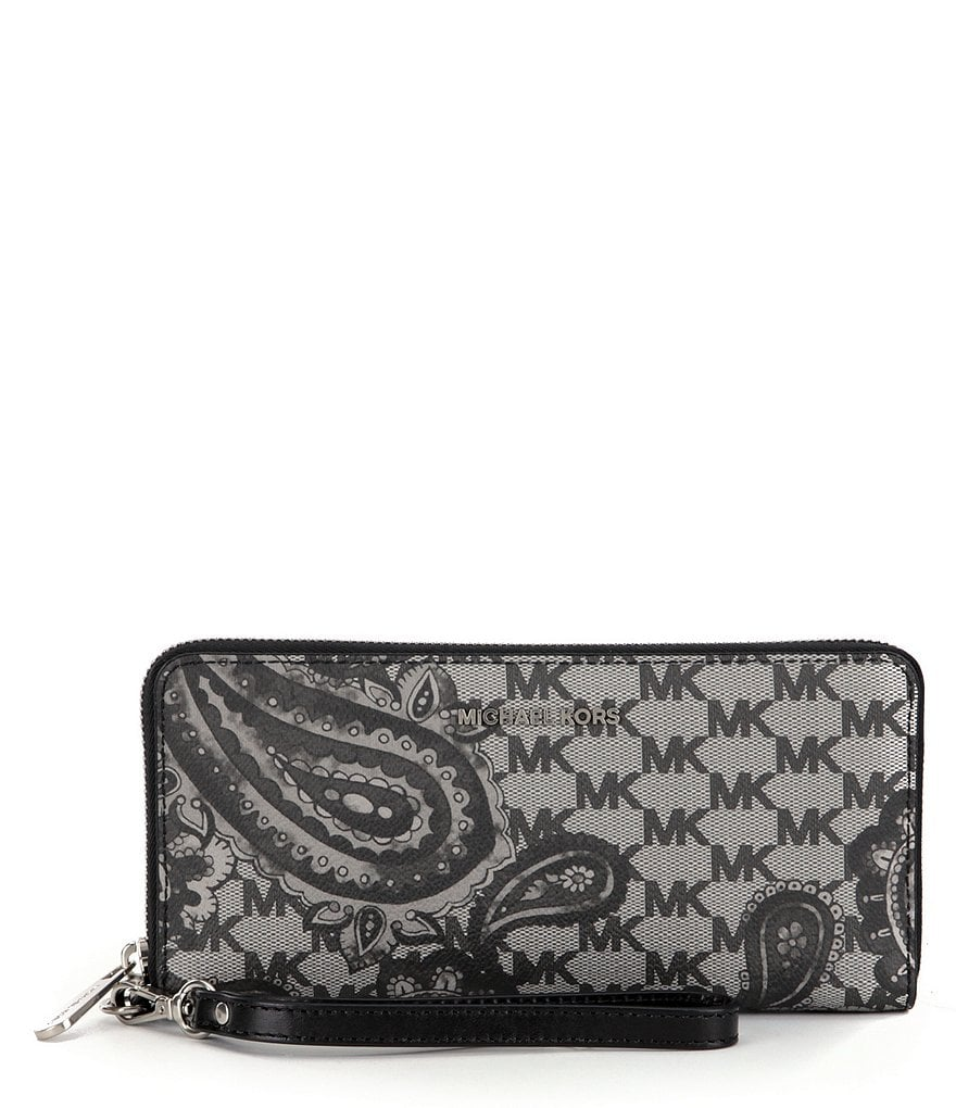 MICHAEL Michael Kors Studio Heritage Collection Paisley Travel Continental Wallet