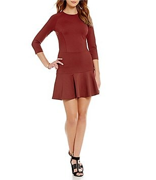 Armani Exchange Fit-and-Flare Dress
