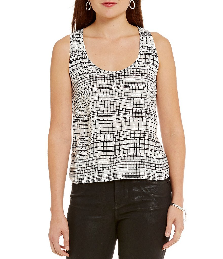 Armani Exchange Woven Shell Top