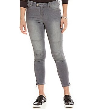 Armani Exchange Moto Denim Pant